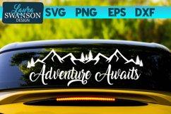 Adventure Awaits SVG   Adventure SVG   Travel SVG Product Image 1