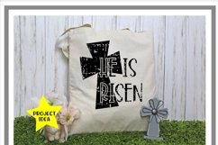 Easter Tote Treat Bag Mock Up Mockup Product Image 2