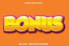 Gold bonus text effect Product Image 1