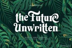 Future Unwritten - Elegant Serif Product Image 4