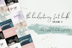 The Handwriting Font Bundle Vol. 2 Product Image 1