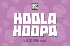 Hoola Hoopa Font PLUS BONUS Ligature Set Product Image 1