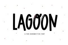 Lagoon - A Fun Handwritten Font Product Image 1