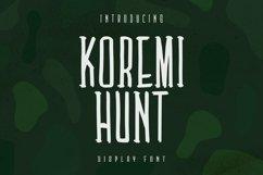 Web Font Koremi Hunt Font Product Image 1