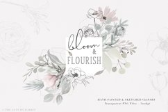 Bloom & Flourish - Floral Clipart Set Product Image 1