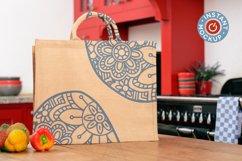 Instant mockup Burlap shopping bag, tote bag, jute bag Product Image 5