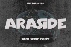 Araside - Sans Serif Font Product Image 1