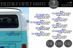 Military Family bundle, Wears combat boots, SVG, PNG, DXF Product Image 1