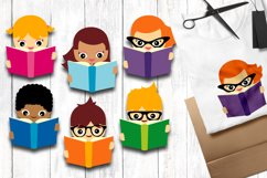 Reading - Back to school clip art graphics Product Image 1
