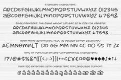 Muggsy - a short and stout fun font! Product Image 2