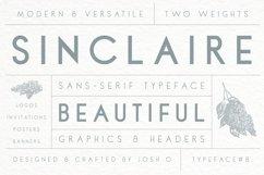 Sinclaire | A Classic Sans Serif Product Image 1