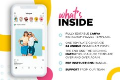 Colorful Instagram Puzzle Template for Canva Product Image 3