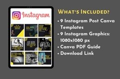 Instagram Post Template- Gym/ Fitness Product Image 3