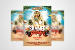 Summer Party Flyer 3 in 1 Bundle Template Product Image 2