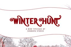Winter Hunt Beauty Typeface Product Image 1