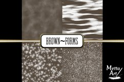 Brown Forms - 10 Digital Papers/Backgrounds Product Image 3
