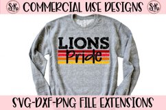 Lions Pride SVG DXF PNG Product Image 1