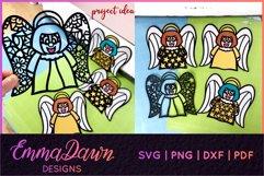 AMI THE ANGEL SVG MINI BUNDLE 7 DESIGNS Product Image 3
