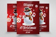 10 Christmas Celebration Flyers Bundle Product Image 4