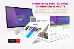 Conference - Event Business Seminar PowerPoint Template Product Image 1