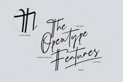 Schrödinger's | Signature Font Product Image 2