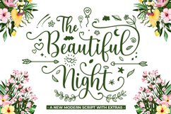 The Beautiful Night Script With Extras Product Image 1