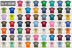 Gildan Mockup Bundle All Colors Mens Tshirt Mock Up Bundle Product Image 2