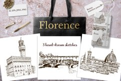 Set of Florence sketches Product Image 1