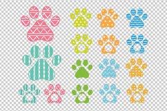 Dog Paw clipart SVG, DXF, AI, PDF, EPS Product Image 2