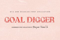 Goal Digger Font Collection Product Image 1
