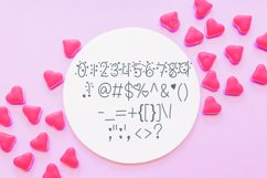 Candy Hearts Valentine Font Product Image 5