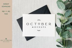 Bundle Mockup Card and Envelope in PSD and JPG | Card mockup Product Image 3