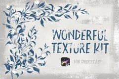 Wonderful Texture Kit for Procreate Product Image 1