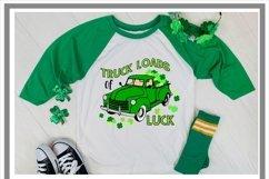 St Patrick's Day Irish Truck Loads Of Luck SVG Product Image 2