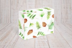 Watercolor 10 Christmas Patterns Product Image 5