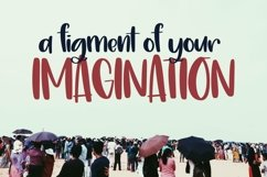 Web Font Figments - A Lovely Hand Written Font Product Image 3