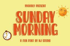 Sunday Morning Product Image 1
