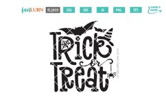 Trick or Treat SVG Cut File Product Image 2