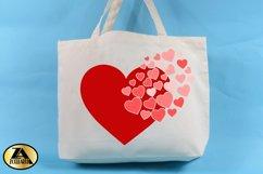Heart SVG Valentine SVG Valentines Day SVG Love SVG Cut file Product Image 4