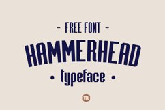 Hammerhead Typeface | Font Product Image 2