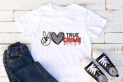 True Crime bundle svg, True Crime SVG, Murder svg, Funny svg Product Image 4