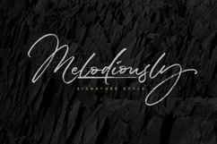 Melodiously Script Product Image 1