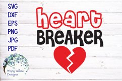 Heart Breaker | Valentine's Day SVG Product Image 2