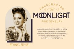 Tropikana Monoline Vintage Typeface Product Image 5