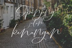 Salting | Handwriting Script Font Product Image 5