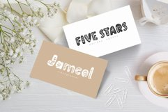 Flower Hand Drawn display Font Product Image 6