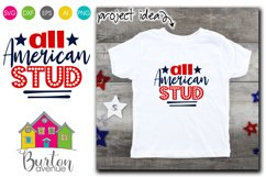 All American Stud SVG File Product Image 1