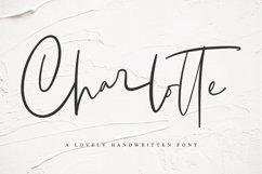 Charlotte | Handwritten Font Product Image 1