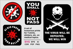 A set of humorous prints on a medical theme Product Image 2