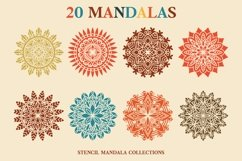 20 Mandala Stencil Collections Product Image 3